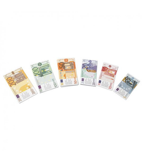 Euro Money Note Set