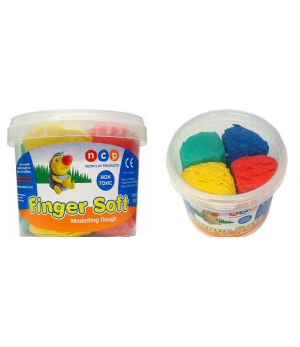 Tub Finger Soft Dough 4 x 225g