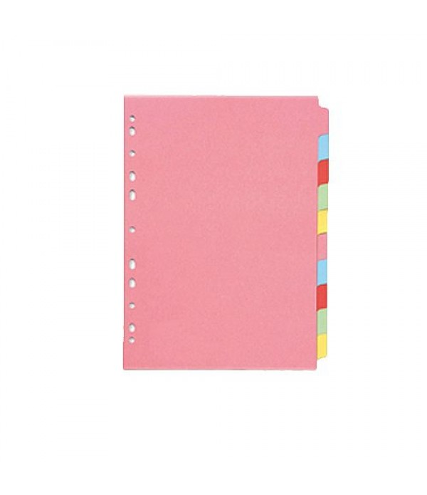 Subject Dividers 10 part  Single Pack