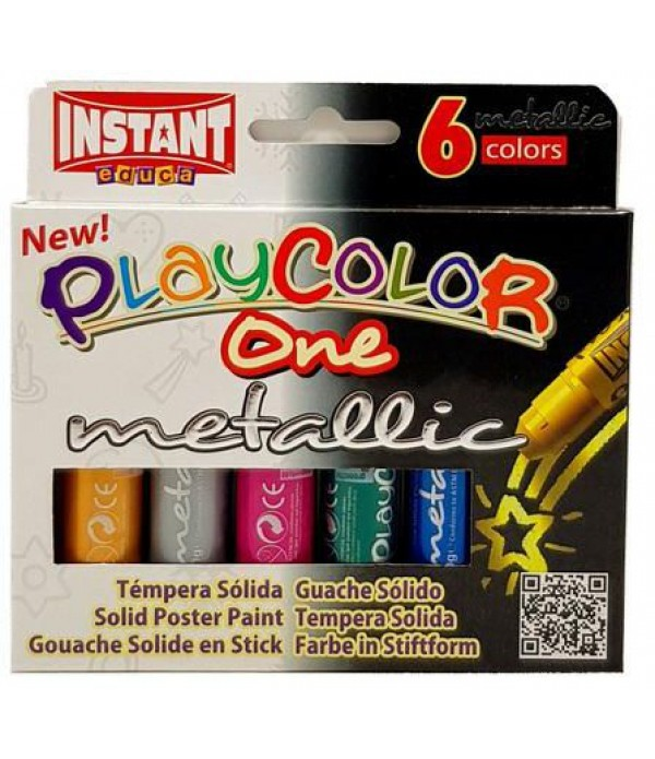 Playcolor Metallic - Pk6