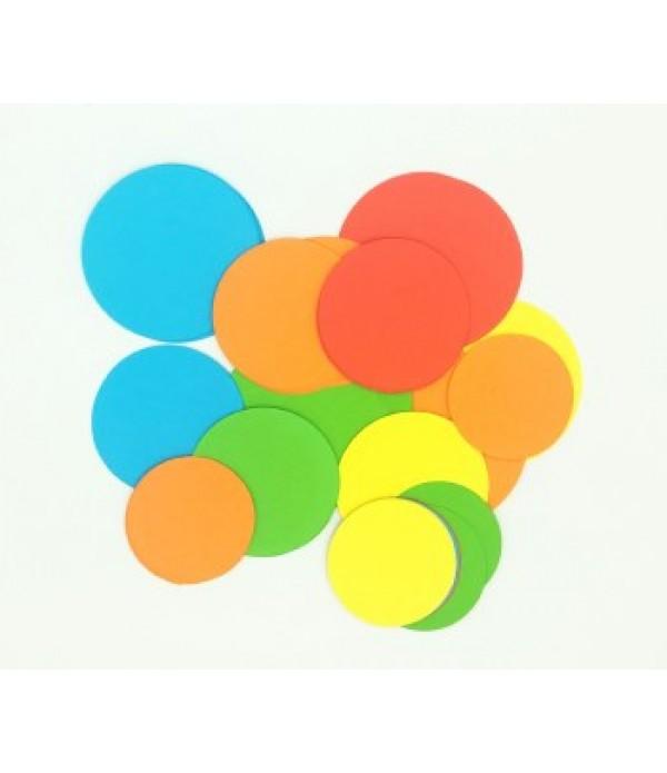 Circles Bright - Cut Out Shapes
