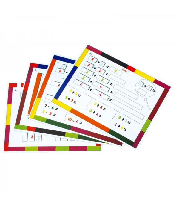 Fraction Bars Activity Cards
