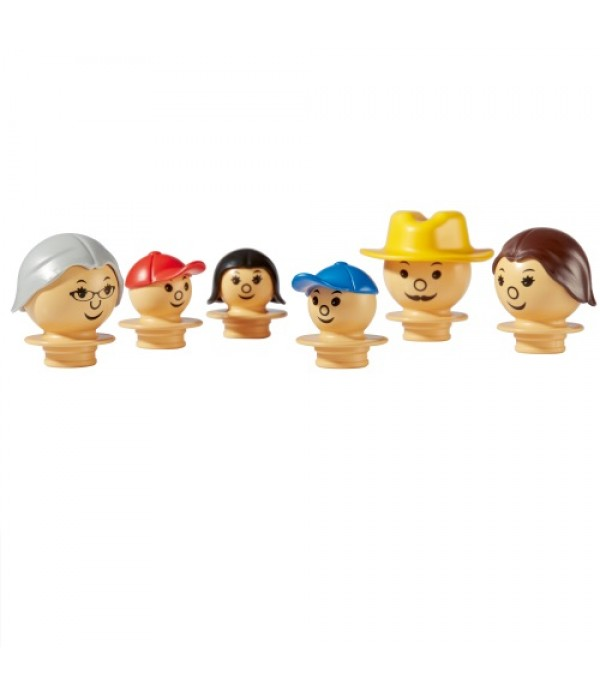 Mobilo Figure Heads - Set 1