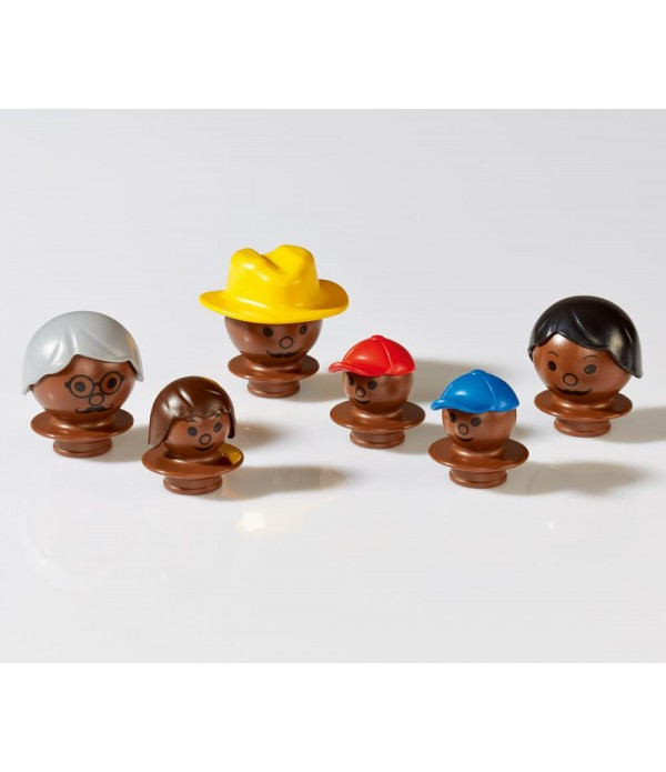 Mobilo Figure Heads - Set 2