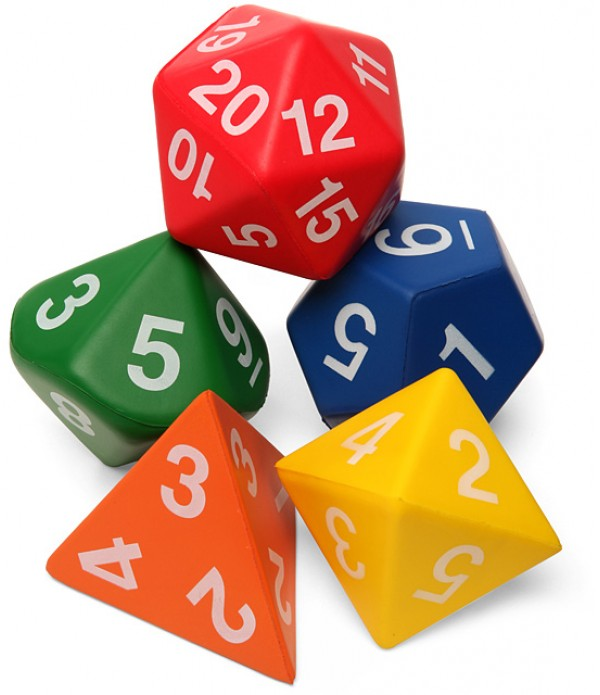 Polyhedron Number Dice