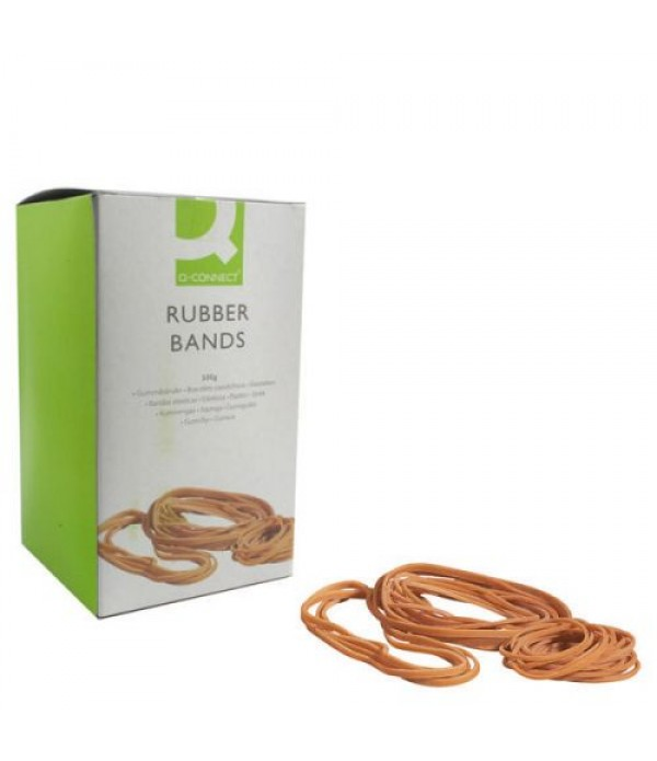 Rubber Bands Assorted 500g