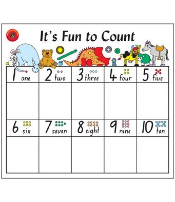 It`s Fun To Count - Desk Mat