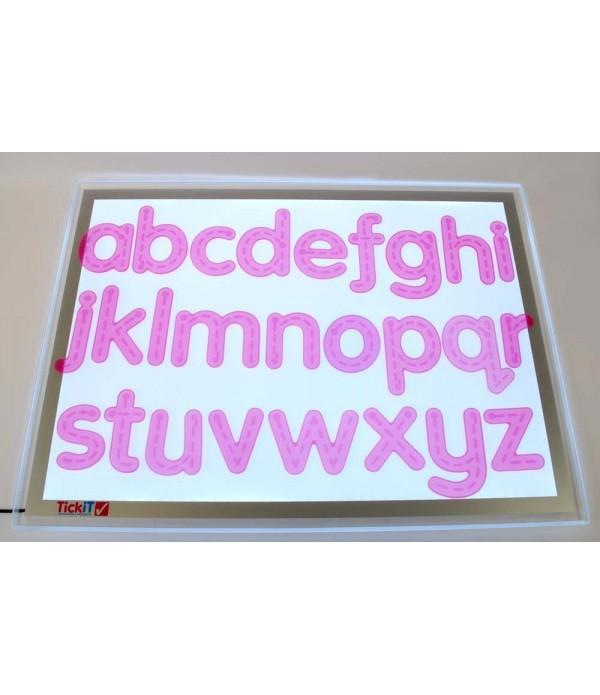 SiliShapes® Trace Alphabet