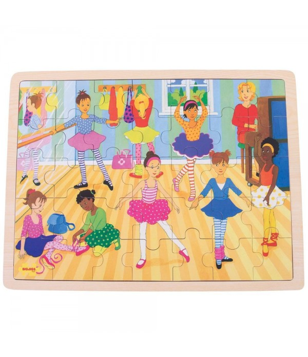 Tray Puzzle Ballet