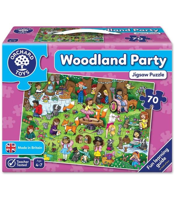 Woodland Party Jigsaw