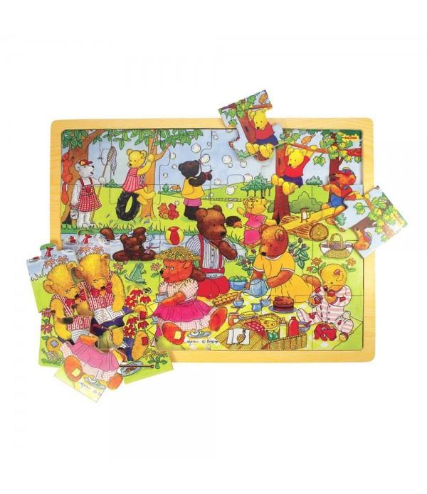 Tray Puzzle Teddy`s Picnic