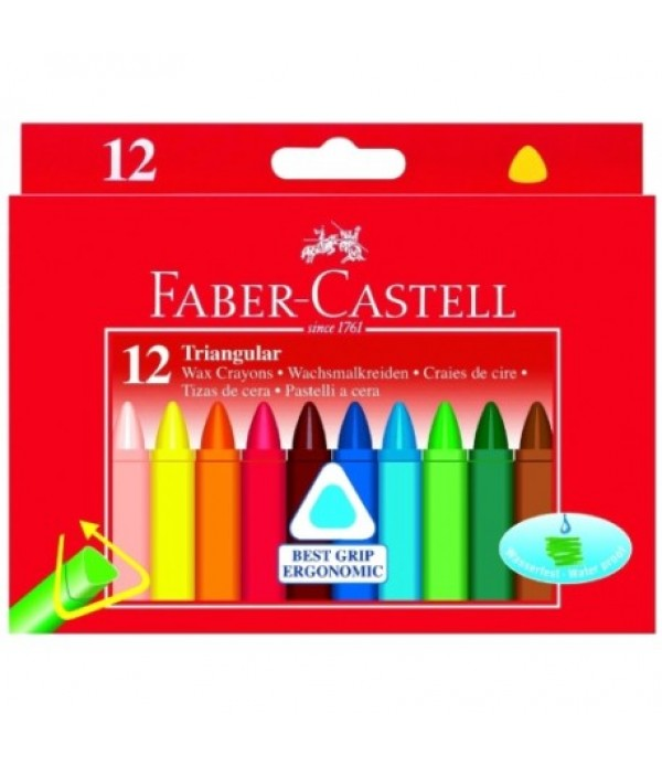 Faber Triangular Crayons