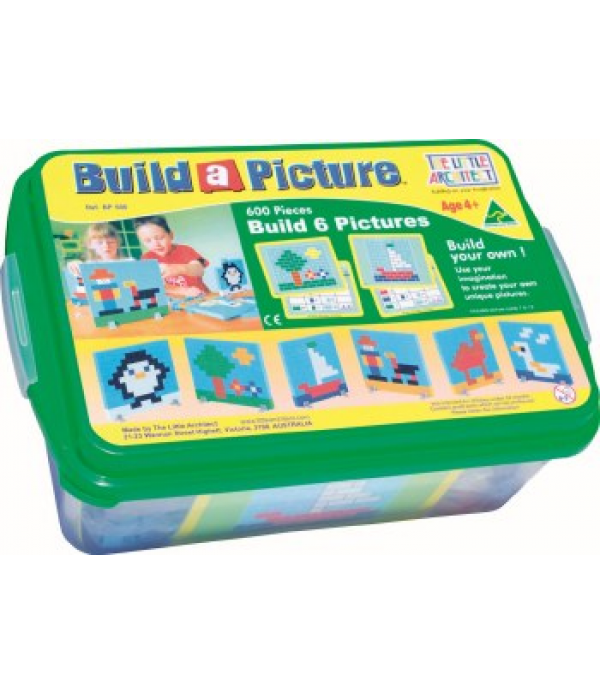 The Little Architect- Build A Picture
