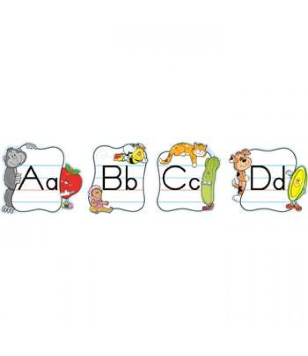 Traditional Mini Alphabet Poster Set