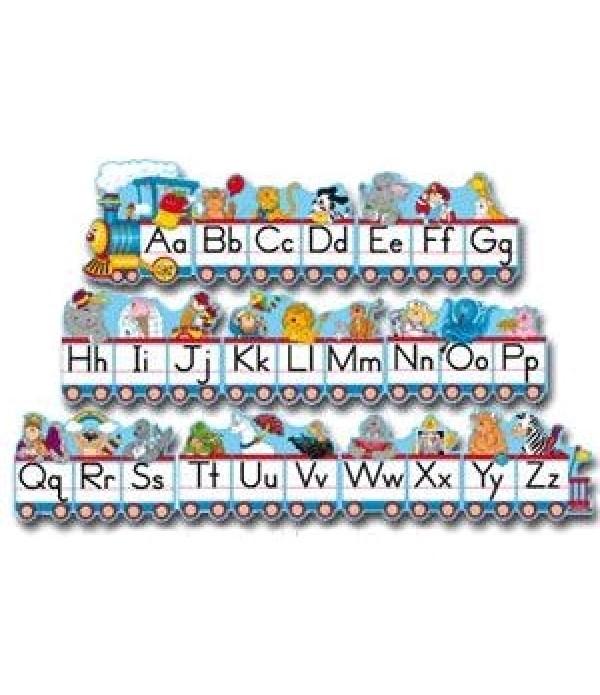 Alphabet Train Poster Set