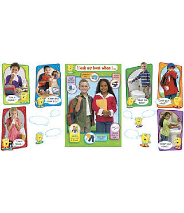 Personal Hygiene Poster Set