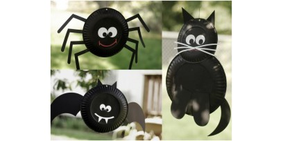 Halloween Paper Plate Bat