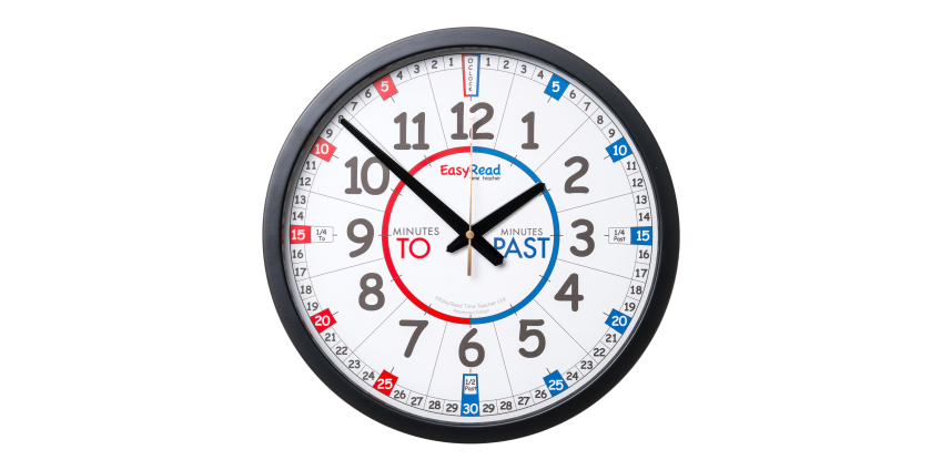 EasyRead Time Teacher Clocks