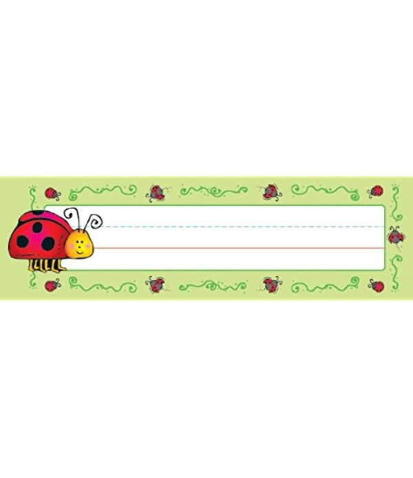 Name Plates - Ladybugs