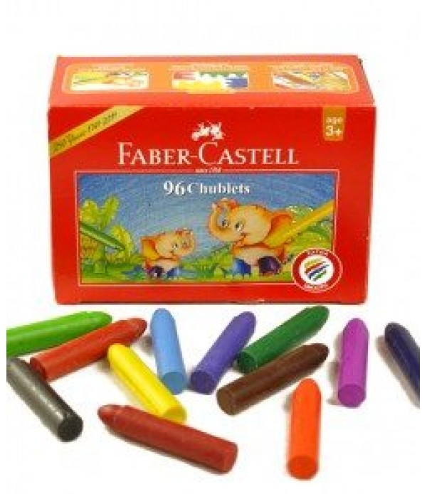 Chublet Crayons Box of 96 Faber Castell