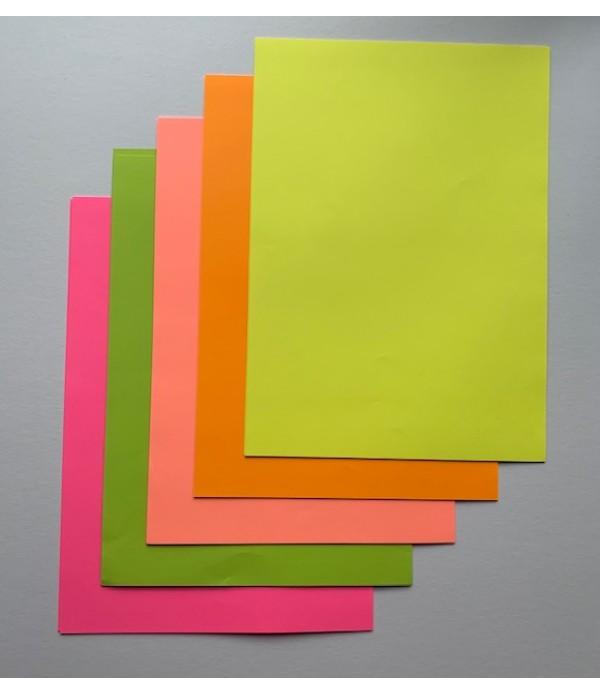Flourescent Paper A4 50's