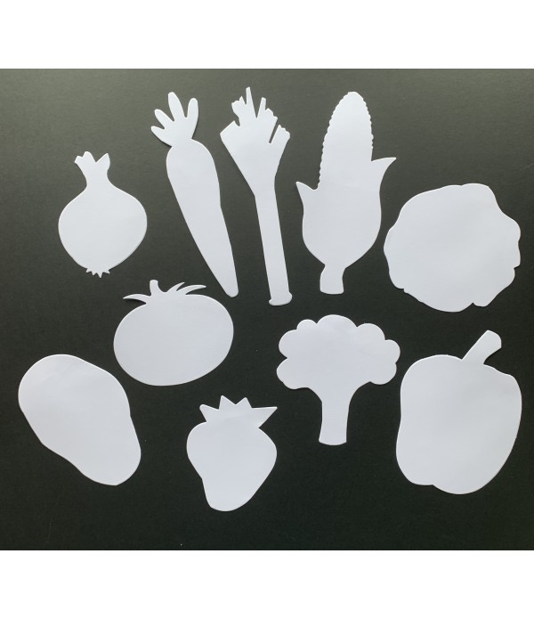 Healthy Eating - Cut Out Shapes