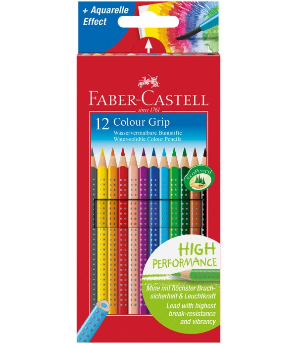 Colour Grip Coloring Pencils 12`s