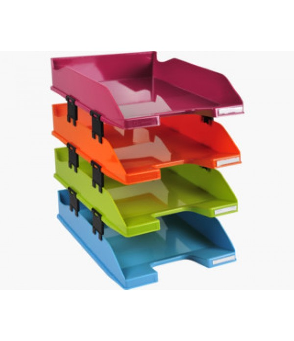 Exacompta A4+ Letter Trays