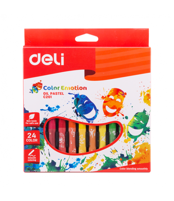 Oil Pastels Color Emotion Box Of 24