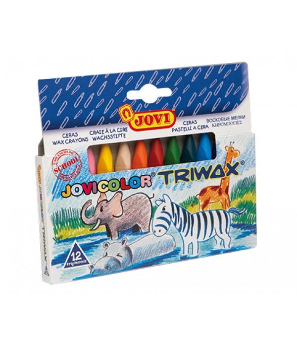 Jovicolor Triwax 12s