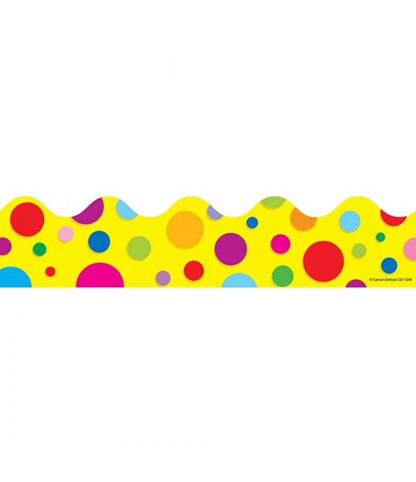 Trimmer Colorful Dots