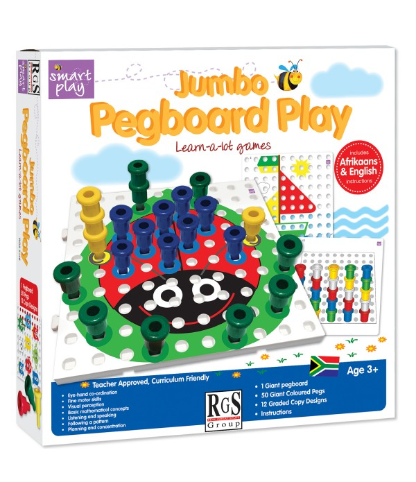 Pegboard Play Jumbo