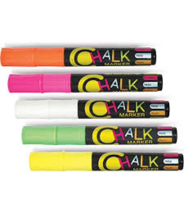 Chalk Markers Set of 5