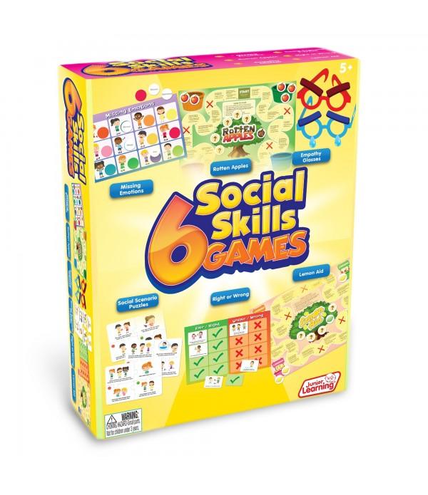 6 Social Skill Games