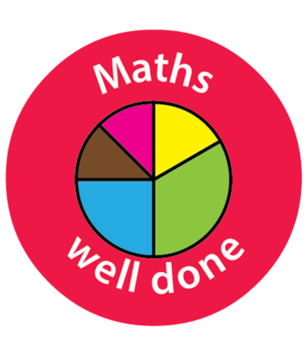 "Sticker ""Maths Reward"""