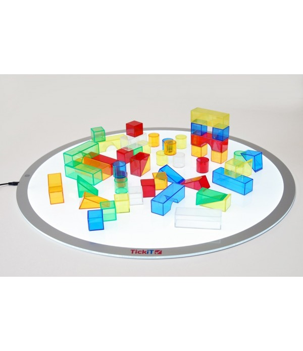 Translucent Colour Blocks