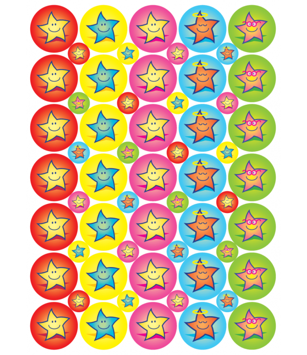 "Sticker ""Star Reward"" 24 &10mm"