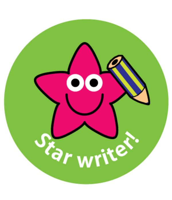 "Sticker ""Star Writer"""