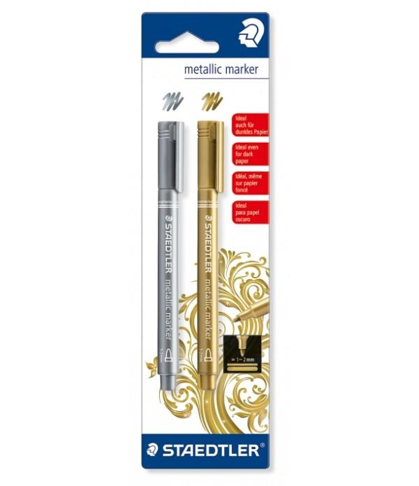 Metallic Marker Gold & Silver