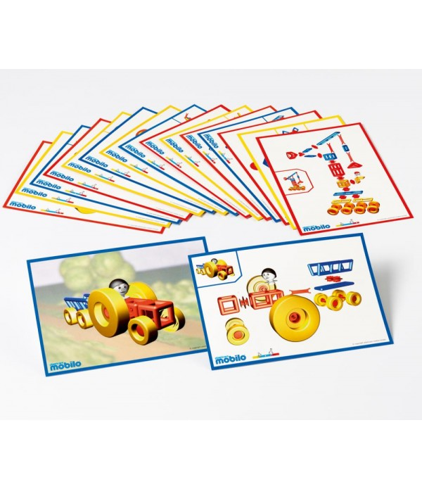 Mobilo Work cards set of 16