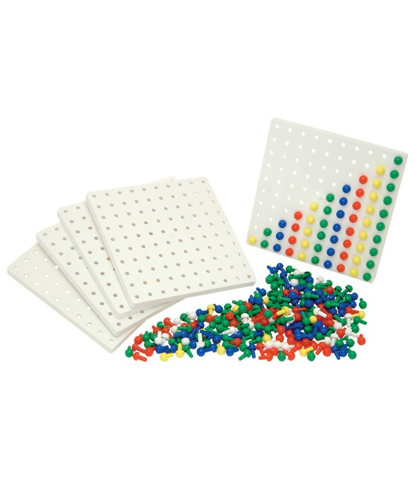 Pegboards (5)+ Pegs (1000)