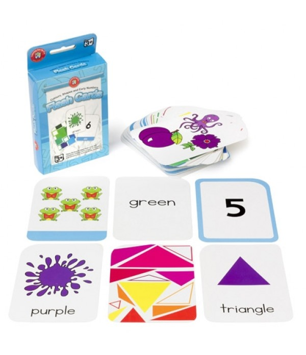 Flash Cards Colours,Shapes and Early Numbers