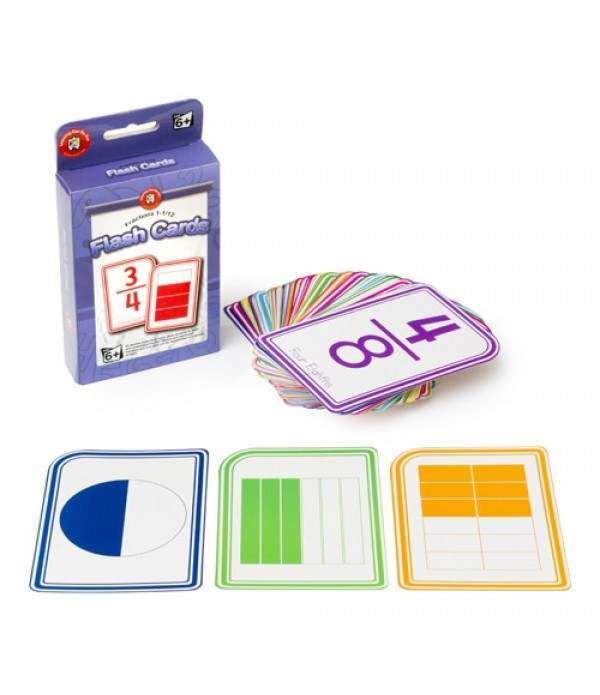Flash Cards Fractions 1-1/12
