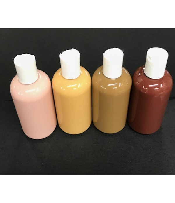 Skin Tone Paints 4x150ml