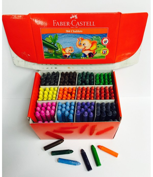 Chublets Crayons Class Pack Faber Castell