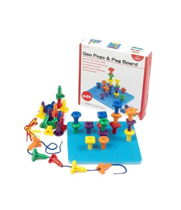 Geo Pegs & Peg Board