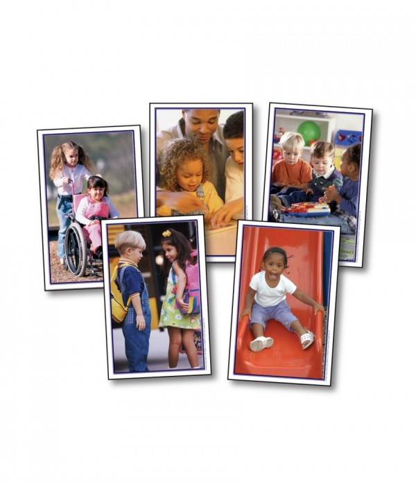 Children Learning Together Cards
