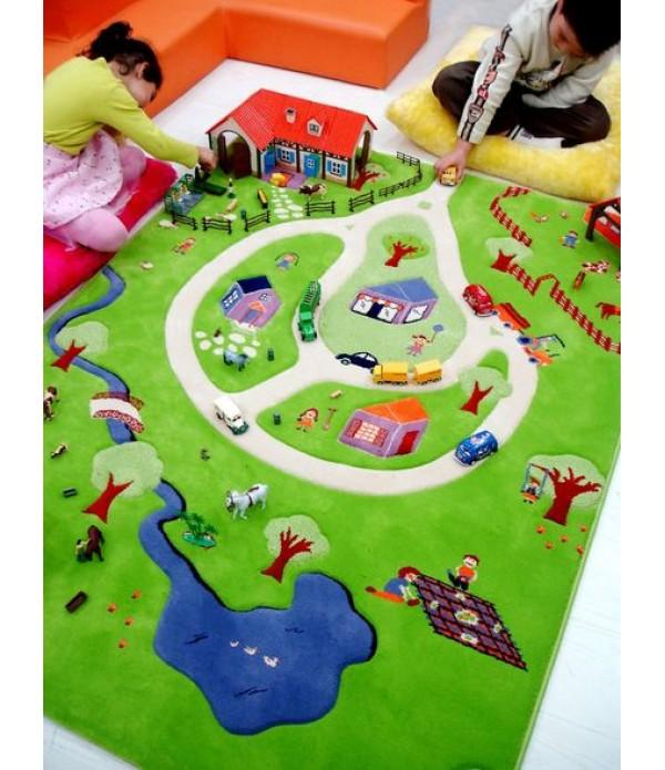 Farm 3D Play Rug