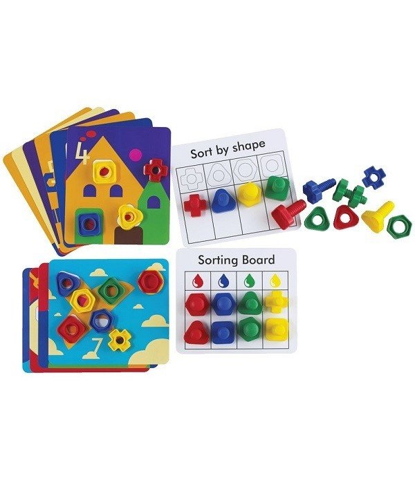 Nuts & Bolts Activity Cards