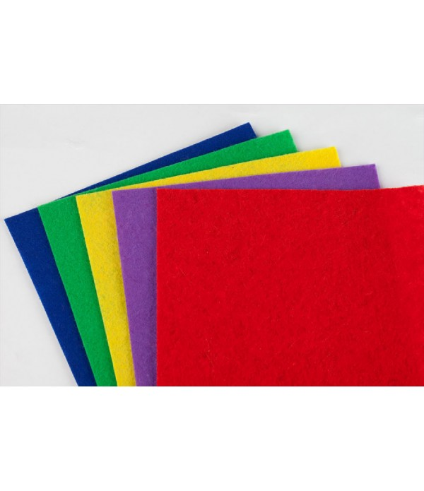 Felt Sheets 10 Assorted Colours